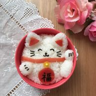 招财猫便当/饭团