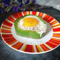 百变鸡蛋~青椒鸡蛋盏