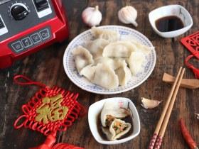 家常水饺-香菇胡萝卜韭菜猪肉馅