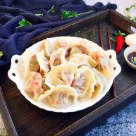 做年货 老天津卫年味素饺子 香干面筋绿豆芽饺子