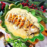 黑木耳肉糜炖蛋蒸白鲞