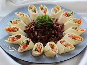 餐桌上最抢眼的一道菜——京酱肉丝