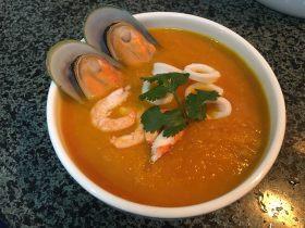南瓜🎃海鲜汤