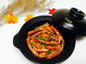 年夜饭--油焖皮皮虾