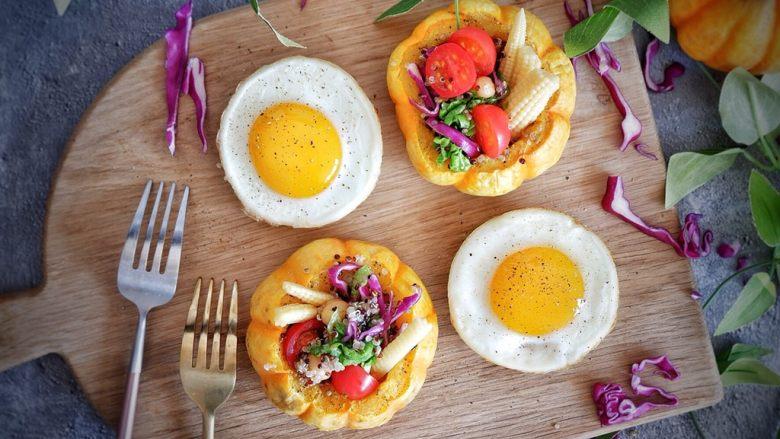 低卡轻食健康减肥—藜麦南瓜沙拉