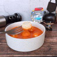 茄汁莲藕鸡肉丸子(亲子版)-辅食