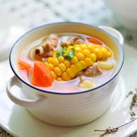 玉米马蹄排骨汤