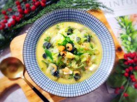 年夜饭の金银满屋~金银蛋上汤海米大白菜