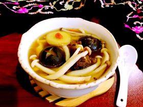 菌类料理+砂锅菌菇汤