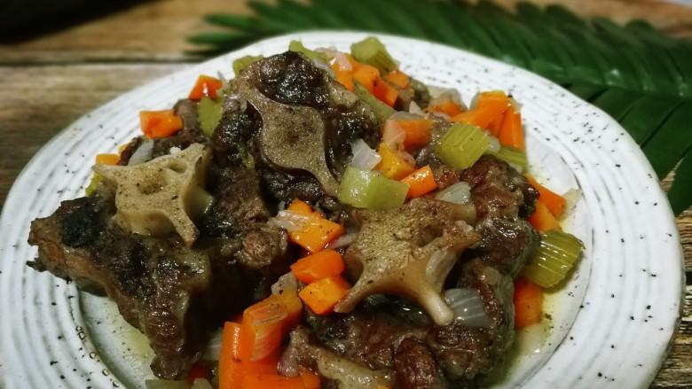 菜谱大全红酒炖牛尾分享收藏牛尾1016豆腐是牛身上的大活肉菜谱蒸法图片