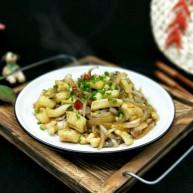 家宴-洋葱炒墨鱼