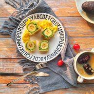 辅食10M➕ 香蕉牛油果吐司卷