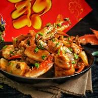 蟹蟹高升吮指海蟹炒年糕