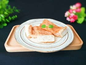 年味+年年有余+外焦里嫩健康饮食的椒香三文鱼骨
