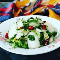 新年第一餐~解油腻的小菜爆淹白菜帮