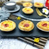 春节快手甜品&新鲜奶油草莓蛋挞