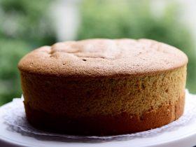樹莓戚風蛋糕