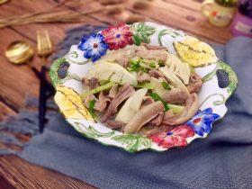 #春节健康菜#白油肚子烩三鲜