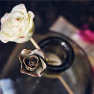 巧克力甘纳许玫瑰花-特别的爱给特别的你
