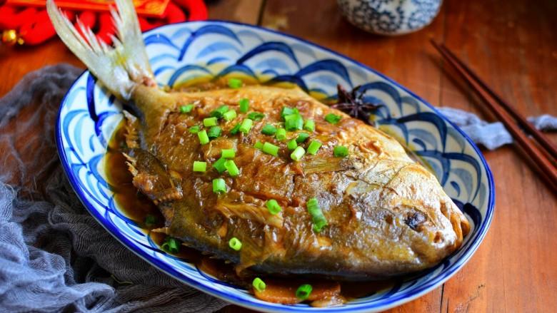 菜谱大全红烧鲳鱼过年分享食谱8325收藏的饲料一定少不了鱼方舟菜谱餐桌图片