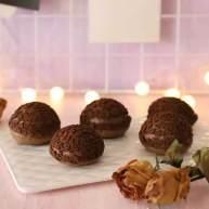 巧克力的浓情魅力在于让泡芙再一次崛起