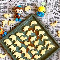 宝宝健康食谱  蛋黄动物饼干