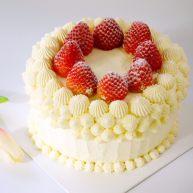 草莓蛋糕(6寸)
