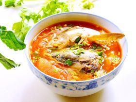 番茄草鱼排汤