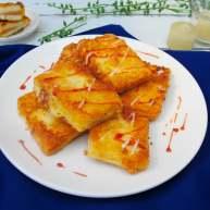 奶酪火腿虾膏