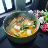 水晶豆腐番茄浓汤宝