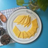菱形香甜玉米饼
