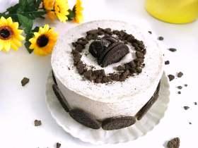奥利奥咸奶油蛋糕