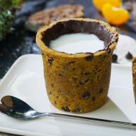 巧克力曲奇牛奶杯