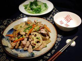 山季金平炒猪肉片