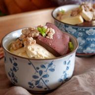 红白豆腐炖肉末