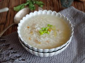 快手早餐—干贝海米粥