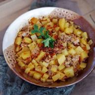香辣土豆蒸肉