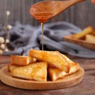 花样土司+香脆蜂蜜土司片