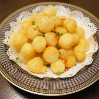 椒盐小土豆球