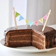 滴落巧克力蛋糕