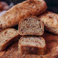 黑麦碧根果面包