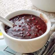 桂花红豆粥