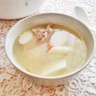 山药鸭架汤