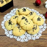 辅食计划~芝麻小酥饼