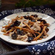 黃花菜木耳炒肉