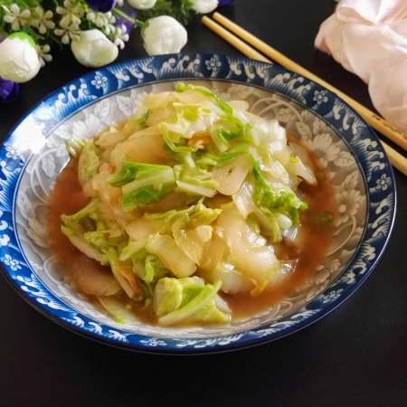 快炒+营养+美味的蚝油小白菜
