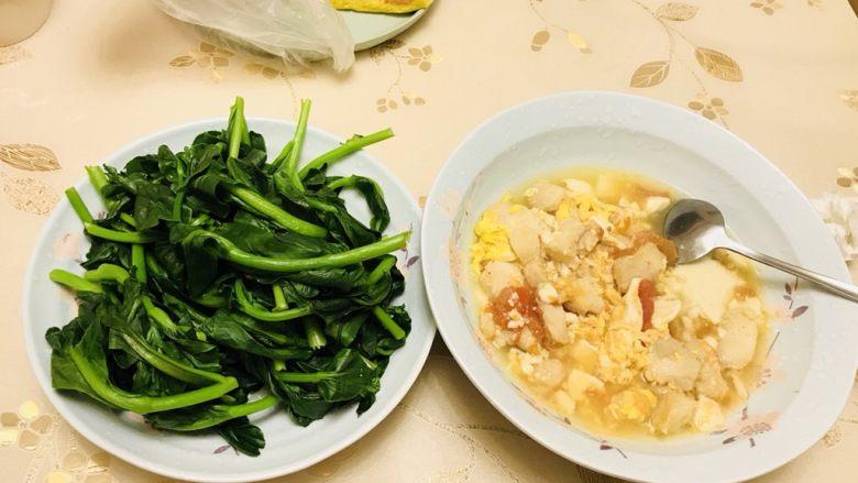 番茄豆腐炖巴沙鱼