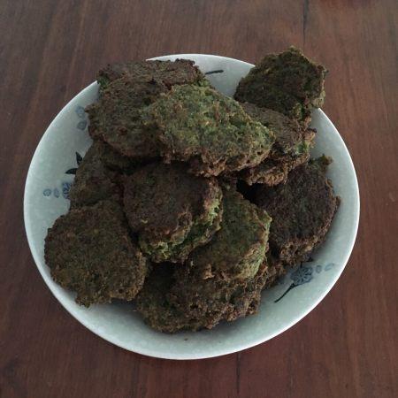茴香蚕豆饼
