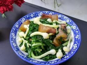 #最下饭的野菜#小根蒜炒腊肉