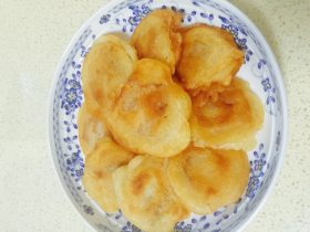 四川腊肉煎饼
